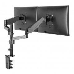 Soporte Brazo Doble Vertical 17-32 Vesa 100X100 8kgs