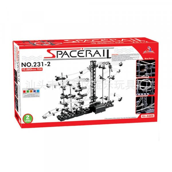 Space Rail 10000mm Nivel2