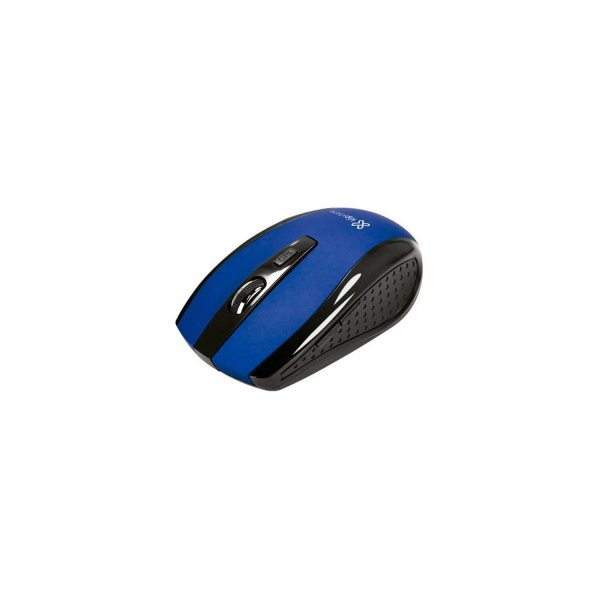 Mouse KlipX Klever Inalámbrico 6 botones 2.4GHz USB Azul