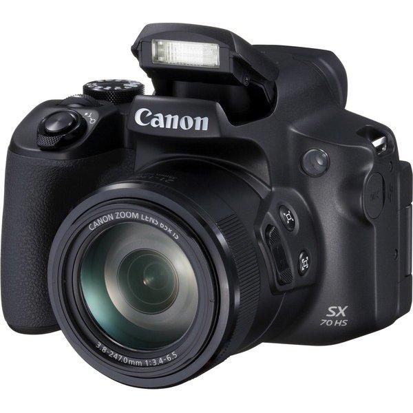 Camara PowerShot SX70 HS 20.3MP CMOS Sensor 65x Zoom Lens