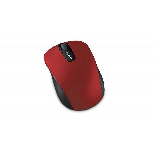 Mouse Microsoft Mobile 3600 Inalambrico Bluetooth Rojo