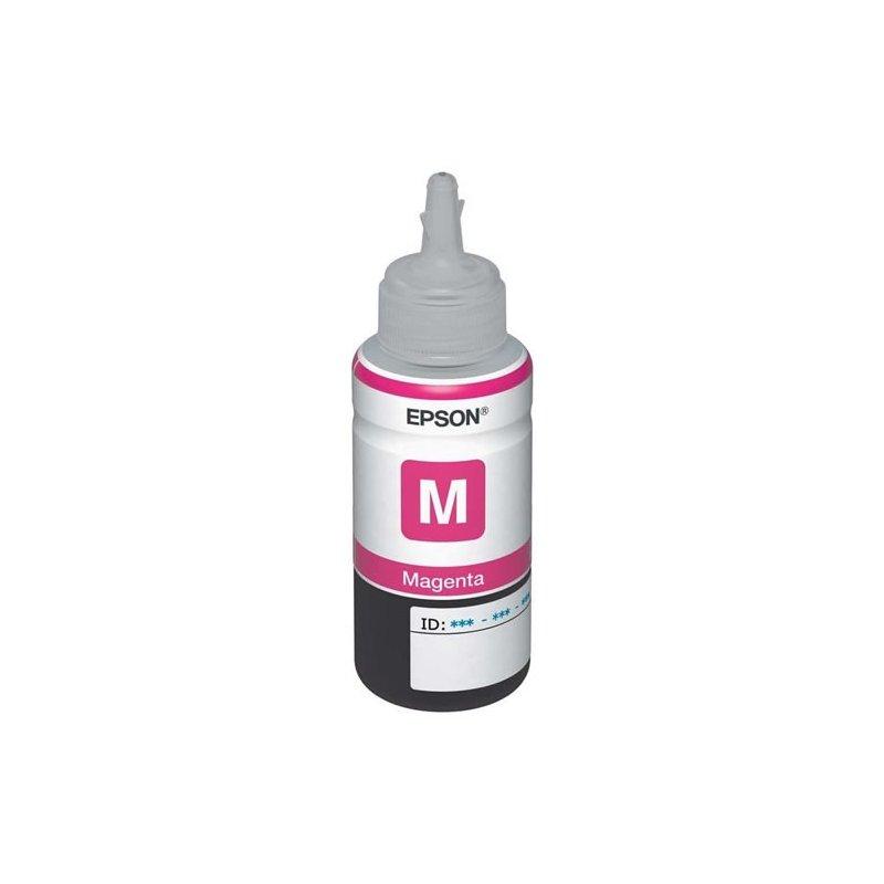 Botella de Tinta Epson EcoTank serie 800 Magenta