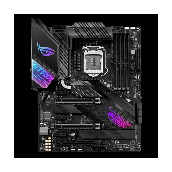 Placa Madre Asus Rog Strix Z490 E Gaming LGA 1200 WiFi 6 SATA 6Gb/s 2x M.2 14+2 Power Stages ATX