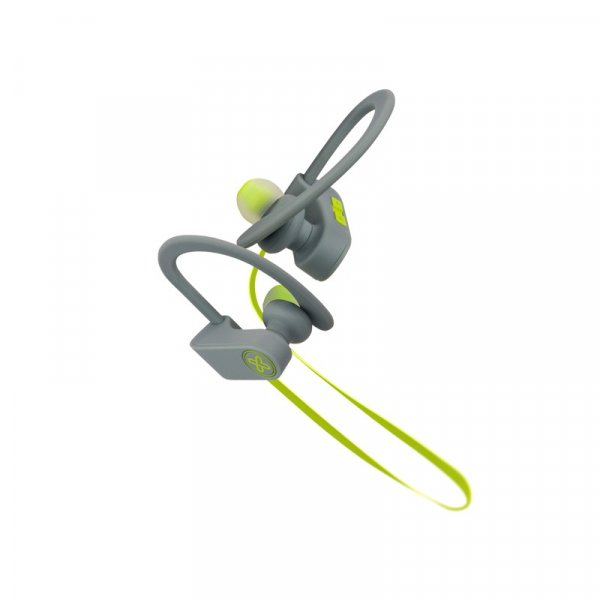 Audífono KlipX JogBudz Gris/Verde