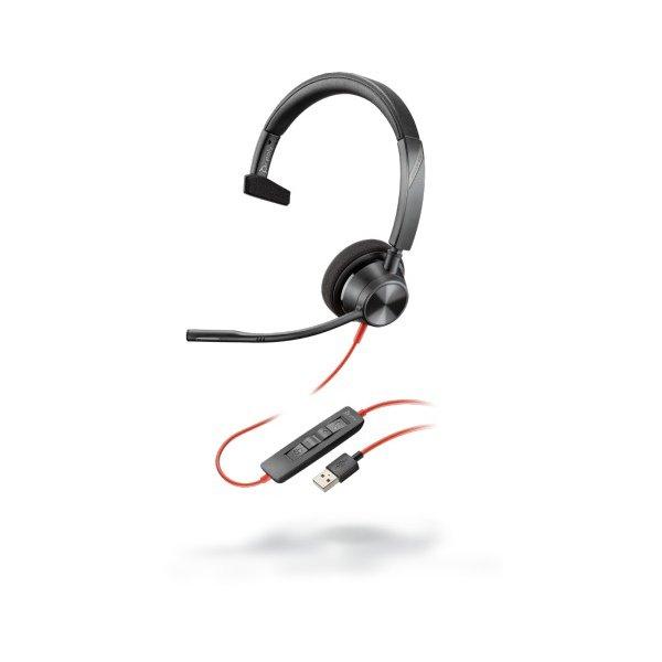 Audífono Blackwire 3325 Microsoft USB-C & 3.5mm Alambrico