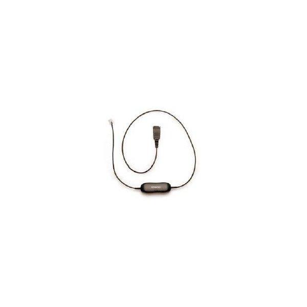 Cable Jabra RJ-10 para auriculares