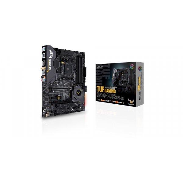 Placa Madre Asus TUF GAMING X570-PLUS Wi-Fi AM4 DDR4 2133/4400MHz M2 x2 PCIe 4.0 RGB ATX