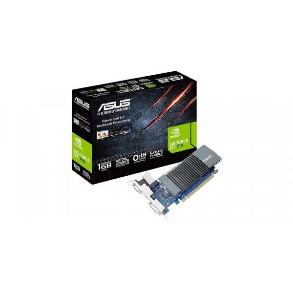 Tarjeta de vídeo ASUS GeForce GT 710 de 1GB GDDR5 Disipador VGA HDMI DVI