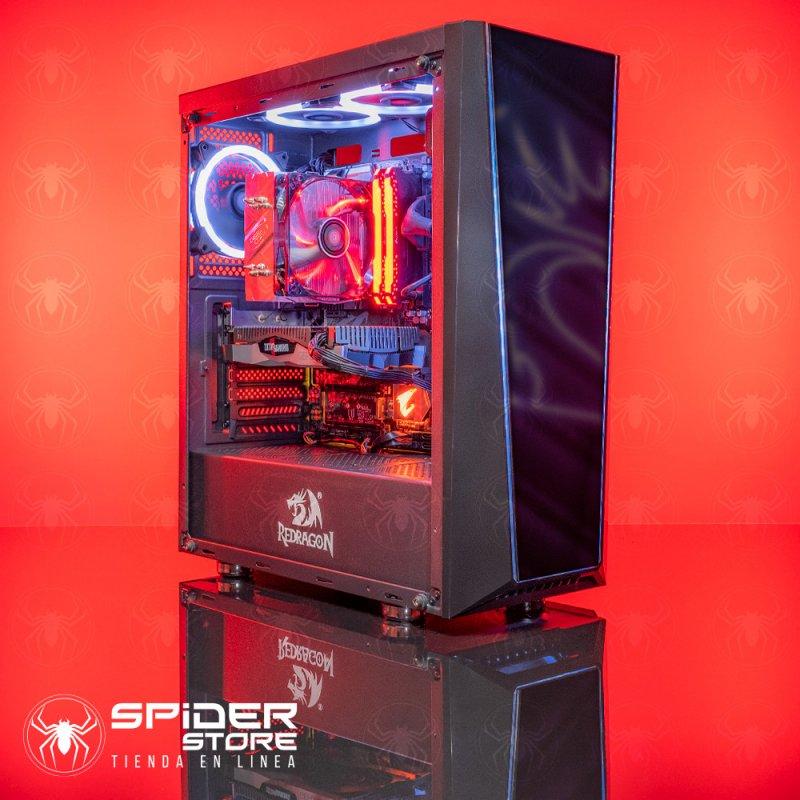 Spider Build Ultra Intel i5 9600KF   RTX 2060   16 GB RAM   ASUS Z390 Plus Gaming    500 GB SSD   1 TB HDD   Redragon TAIL GATE