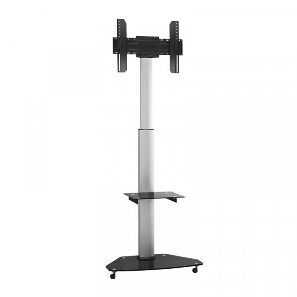 "Soporte Para Tv LCD Led Tipo Pedestal 30-70"" VMAX 600x400 1 Bandeja 40 Kg"