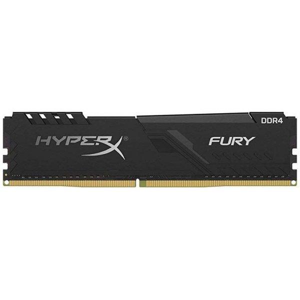 Memoria RAM  HyperX 8GB 2400MHz DDR4 DIMM Fury Black