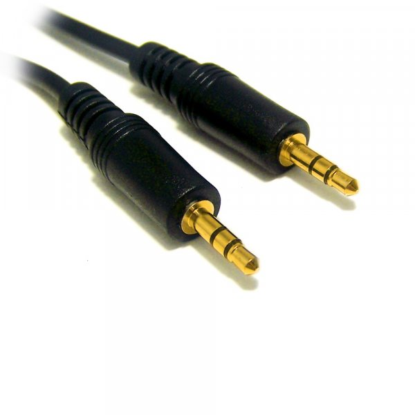 Cable Stereo Plug 3.5mm 20mts M/M